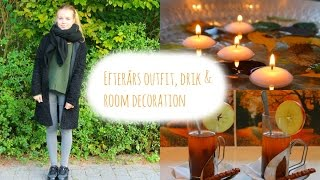 Efterårs outfit, drik & room decoration - Collab w. Kathrine Christiansen Thumbnail