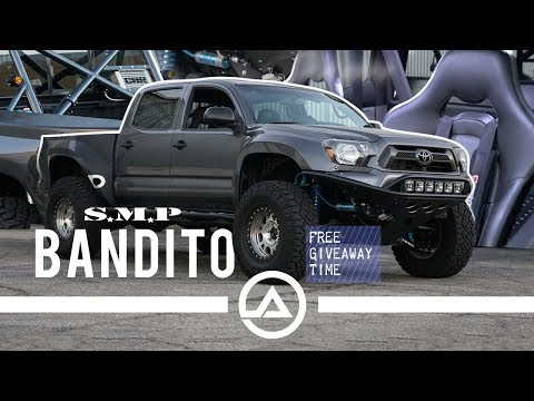 Sick 2013 Toyota Tacoma PreRunner Bandito   Built By SMP Fab Works