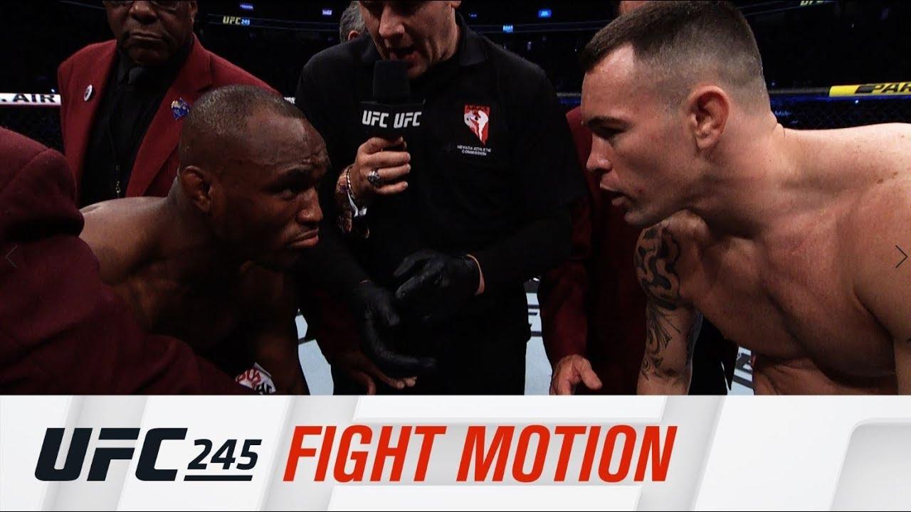 UFC 245: Fight Motion