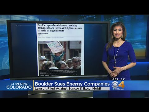 Boulder Joins Climate Change Lawsuit