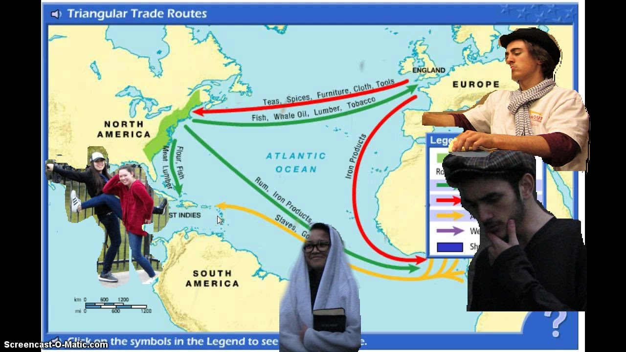 THE TRIANGULAR TRADE 6TH PERIOD FINALS - YouTube