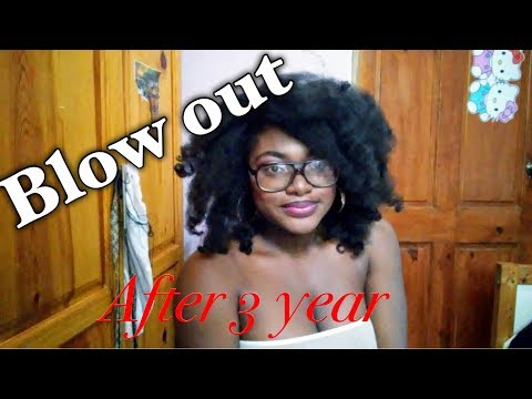 Blow out my hair after 3 years   Vlog 1   Cyra Lys