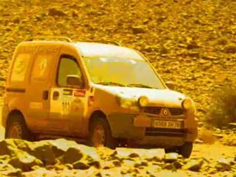 renault kangoo rallye des gazelles youtube. Black Bedroom Furniture Sets. Home Design Ideas