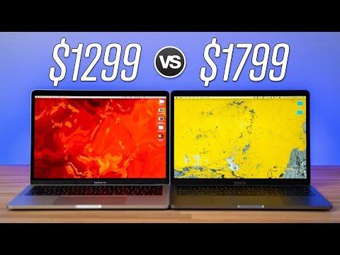 """$1299 vs $1799 13"""" MacBook Pro 2019 - Full Comparison"""