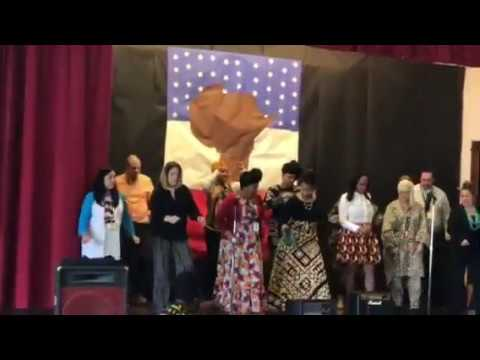 Texas Avenue School Black History Assembly 2018/Teacher's Dance