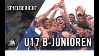 FC St. Pauli U17 - Hamburger SV U17 (Finale, Pokal)