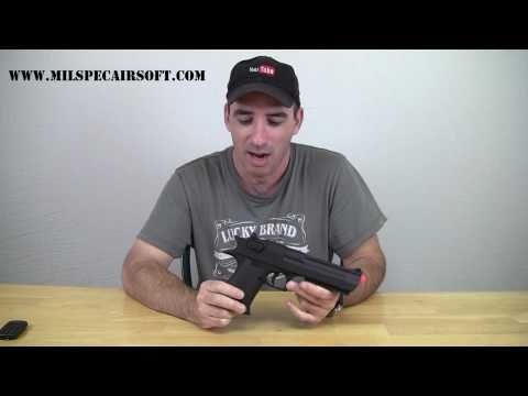 Airsoft Review CYMA CM121 Desert Eagle AEP