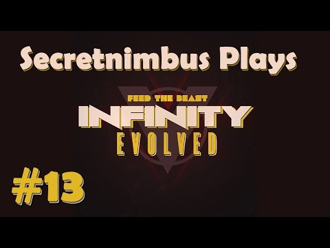 Let's Play Minecraft FTB Infinity Evolved - Expert Mode - #13 - Time to Burn