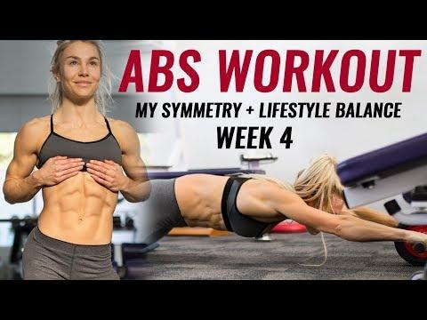 Abs Workout & Updates - Hattie - 4 weeks out - Ep 7 - READ DESCRIPTION BELOW