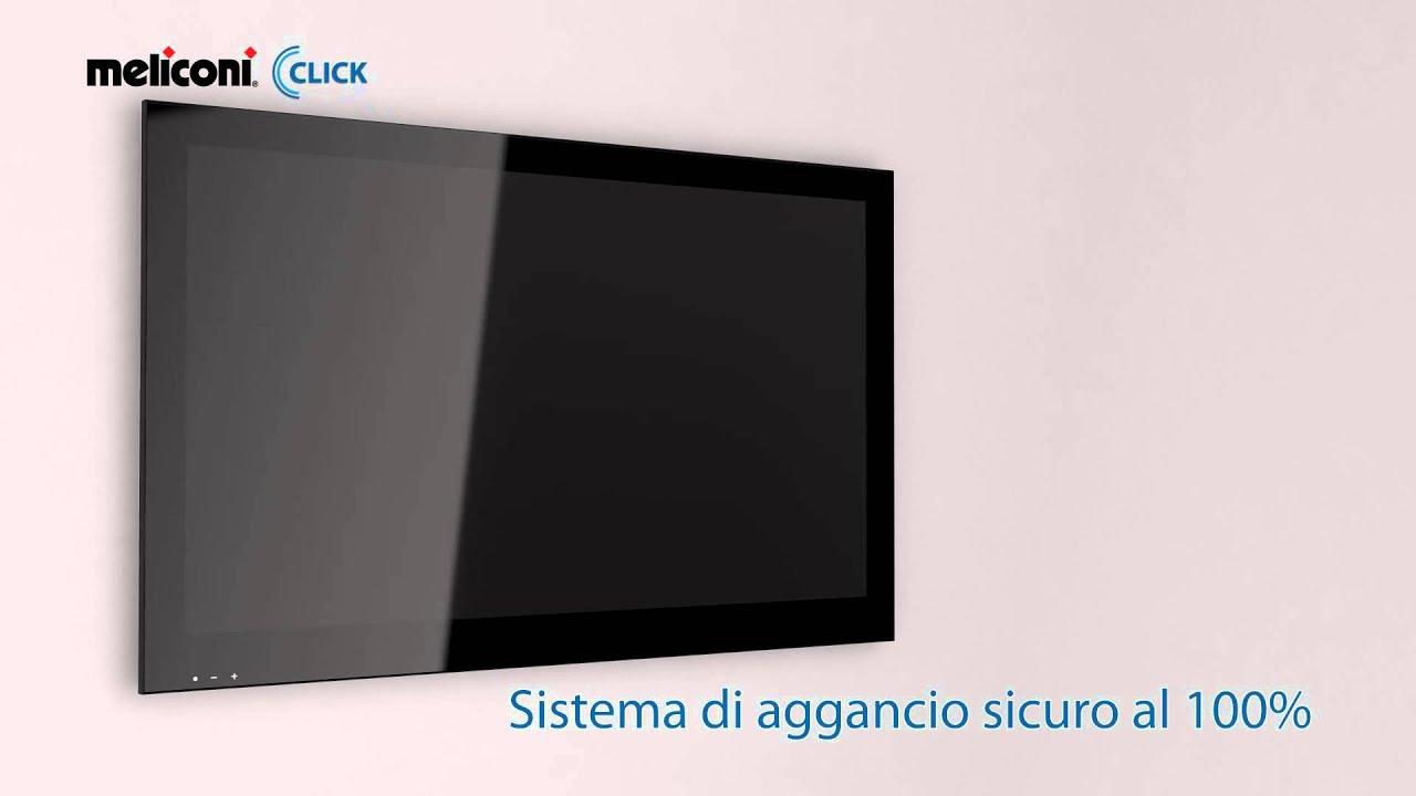 Porta Tv Da Parete Meliconi.Click Meliconi Il Supporto Per Tv Facile Da Montare