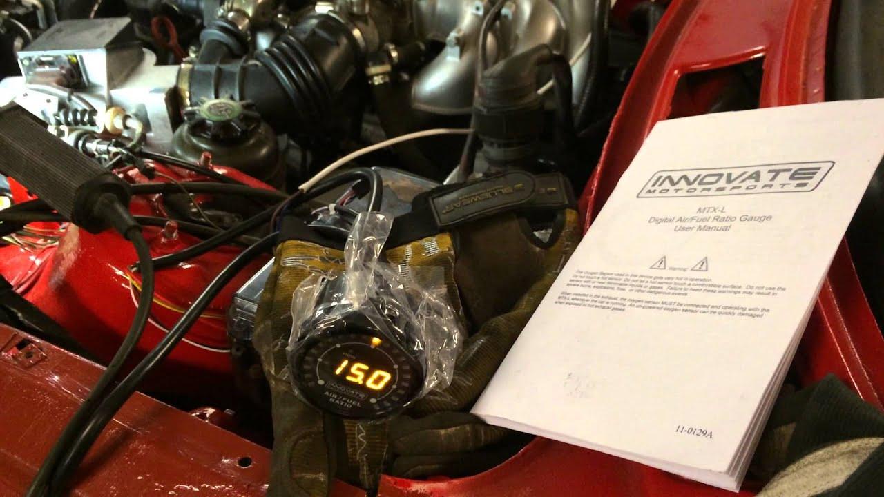 Innovate MTX-L wideband o2 sensor - BMW E30 M20B25