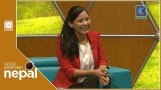 Pratima Sherpa | Golfer | Good Morning Nepal | 14 September 2018