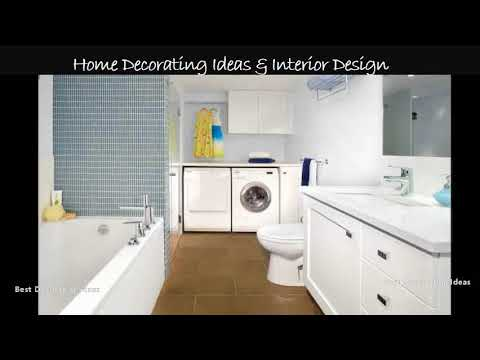 Bathroom laundry design plans | Interior Design with Home Decor & Modern House Inspiration Pic