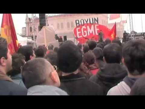 Turkish Communist Party,   Rally, İstanbul