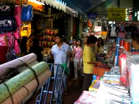 Chinatown in Bangkok und Sampeng Lane