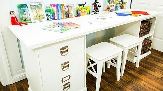 How To - Dylan Neal's DIY Kids Desk for Two - Hallmark Channel