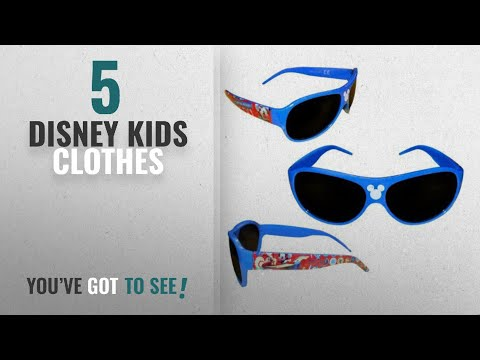 Top 10 Disney Kids Clothes [2018]: Disney Mickey Mouse Sunglasses Plastic Sunglass