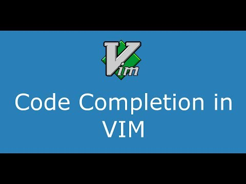 Part 8 Code Completion In VIM