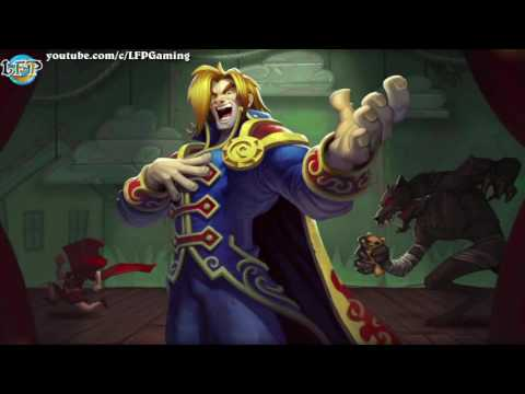 Hearthstone: Full Barnes Legendary Intro Music -Karazhan