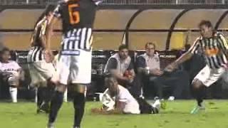 Os gols de Corinthians 1 x 1 Santos pelo Campeonato Brasileiro 2012 24/11/12