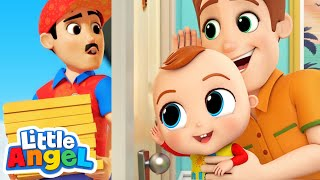 Who's At the Door? | Don't Open The Door To Strangers |  Kids Songs & Nursery Rhymes by Little Angel