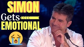 Top 3 EMOTIONAL *MEN STARTS TO CRY* AUDITIONS ON GOT TALENT!