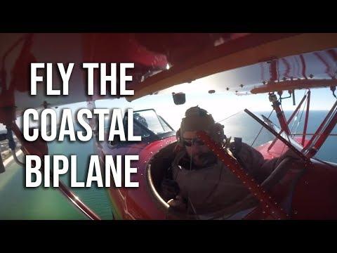 Tour the 30A Beaches in an open air biplane called The Spirit of 30A