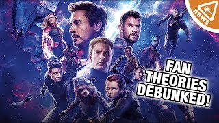 The Avengers Writers Confirm & Deny the Best Endgame Fan Theories! (Nerdist News w/ Jessica Chobot)