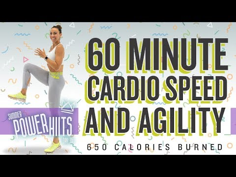 60 Minute Cardio Speed And Agility Workout 🔥Burn 650 Calories!* 🔥Sydney Cummings