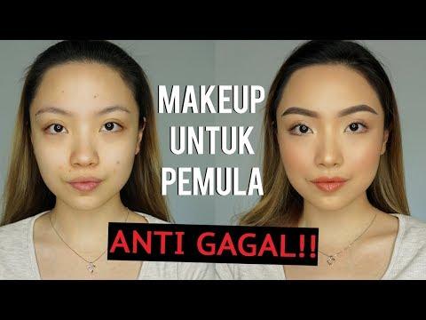 MAKEUP UNTUK PEMULA... ANTI GAGAL!! | GELANGELICCA - YouTube