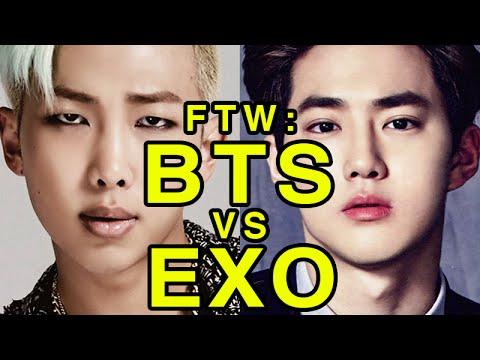For The Win: BTS vs EXO