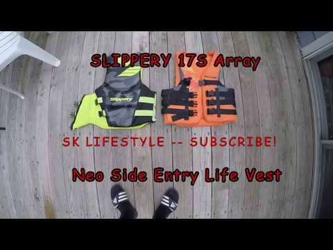09422f1c7f46 SLIPPERY 17S Array Life Vest Review - YouTube