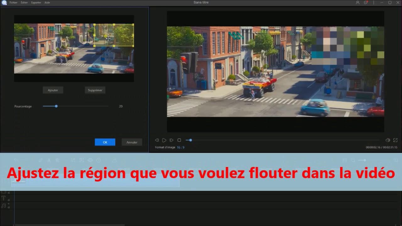 Logiciels Gratuits Pour Flouter Une Partie De Video Youtube