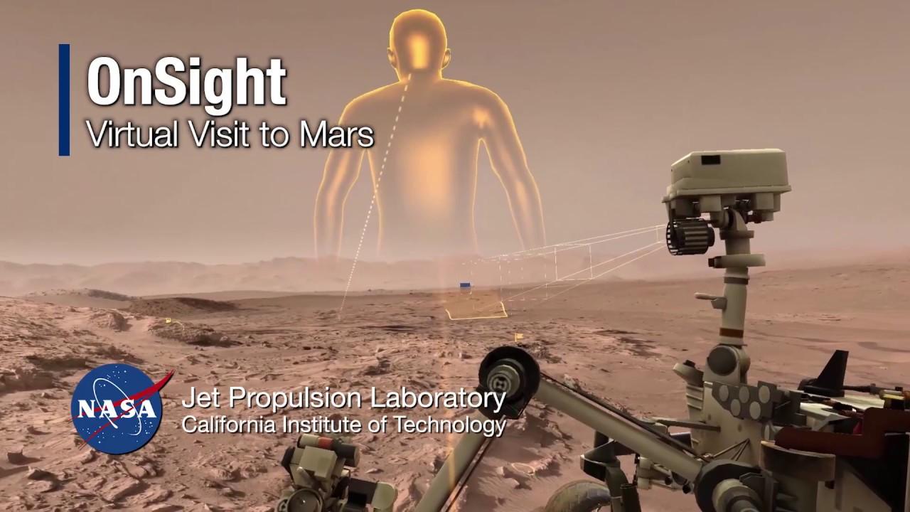 Risultati immagini per OnSight: Virtual Visit to Mars