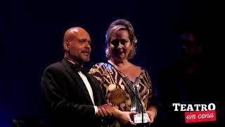 Claudio Galvan leva o Prêmio Cesgranrio de melhor ator de musical (2019)