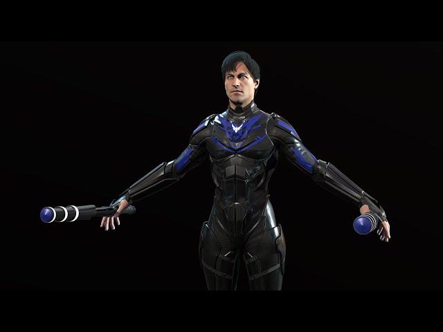 Делаем 3д модель персонажа суперхера( 6 ой этап ,кажется, ригг)