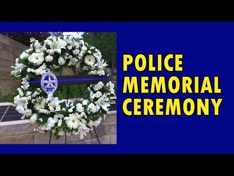 Irving Police Officer Memorial Ceremony 2017