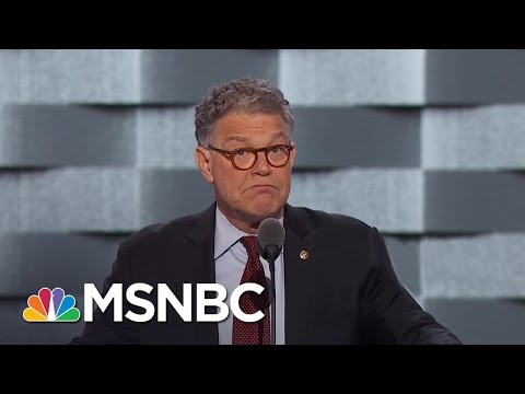 Senator Al Franken Rips On Donald, Trump University | MSNBC