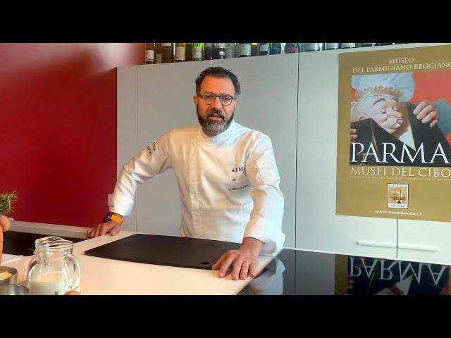 I MUSEI IN CUCINA - 4.  Torta di patate, prosciutto e Parmigiano Reggiano