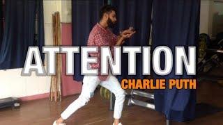 Charlie Puth - Attention | Dance Video | Harsh Bhagchandani Choreography