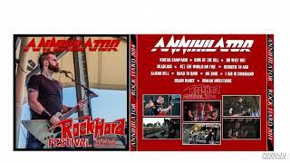Annihilator - Rock Hard 2014 - 01. Smear Campaign