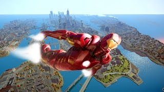 GTA IV Mods - Iron Man MOD For GTA IV Gameplay