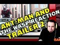 ANT-MAN AND THE WASP TRAILER 2 REACTION MICHAEL PEÑA ES DIOS ;