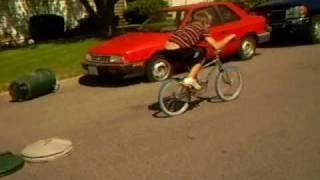 Cool bike tricks and public humiliation