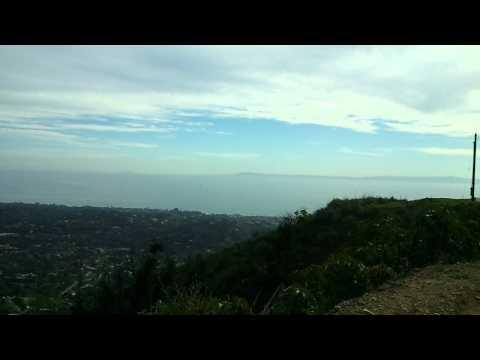 Over looking Santa Barbara CA