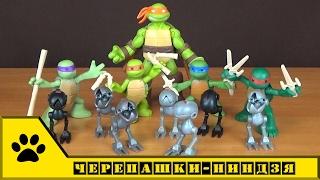 TMNT Nickelodeon, Playmates Toys - Юные черепашки-ниндзя и Маусеры
