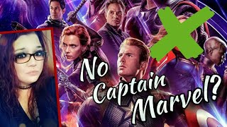 MCU | No Brie Larson's Captain Marvel in Avengers: Endgame? | No Make Up Either?