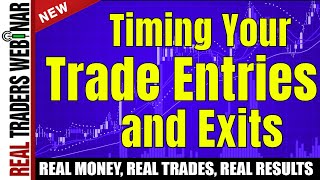 Timing Your Trade Entries & Exits w/ Swiss Clock Precision by Barry Burns | Real Traders Webinar