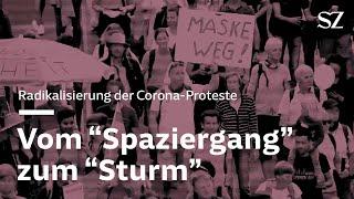 Corona-Proteste - Vom