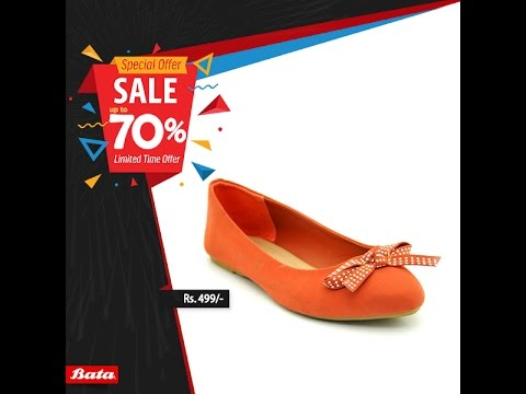 11dec78f38c0c8 Bata Shoes Special Offer Black Friday Sale upto 70% Off - YouTube